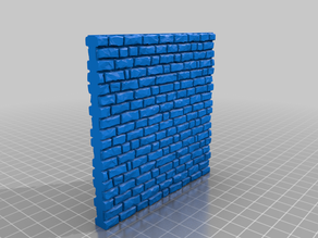 Medieval Stone Wall 28mm Scale - 10x10cm