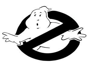 Ghost Busters stencil