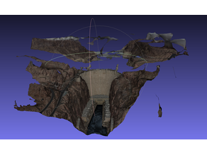 Hoover Dam (mesh only)