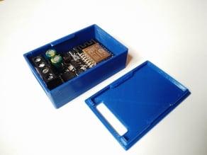 Snapfit Enclosure for ESP8266 Sinilink XY-WFMS 5V-36V Mosfet Switch Module