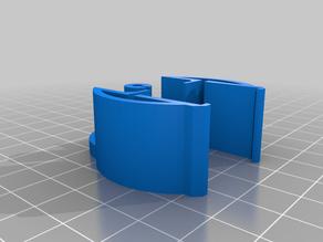 improved spool roller pair // monoprice select mini mspm // 608 skateboard bearing