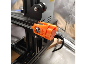 Ender3pro Max Clearance X-belt tensioner (Reuses stock parts)