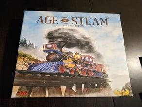 Age of Steam Deluxe Organizer - small printer remix