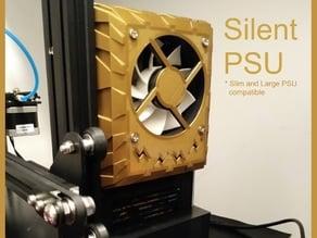 Ender 3 PSU Cover - 80 mm Silent Fan