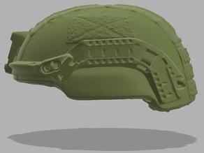 Military Helmet - Mid Cut