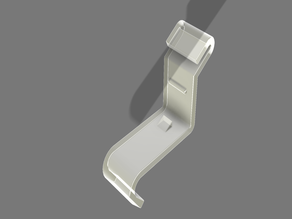 Spare part clip for Ikea lamp