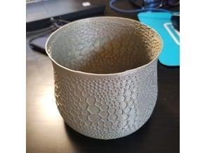 Organic pot / vase
