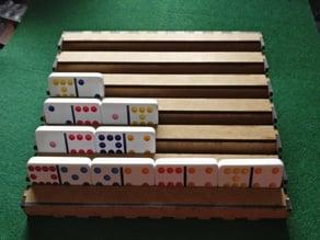 Domino Tile Organizer, Laser Cut