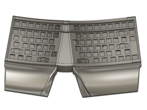 BootyShorts Ergonomic Mechanical keyboard