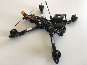 GoPro Session mount with immortal T for GEPRC Mark4
