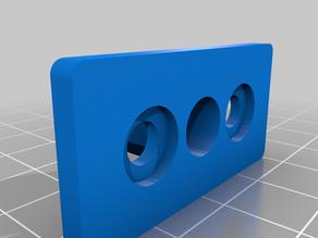 Openbuilds Nut Block Plate