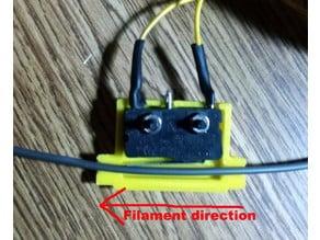 Filament Alarm Microswitch mount