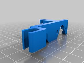 Filament Guide Ender 3V2 Dual Gear Extruder