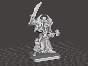 HeroQuest - Wizards of Morcar - Necromancer Fanrax (Repaired)