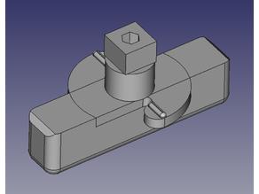 Replacement latch for Pet Tek G-DDC dog door.