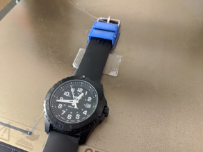 Watch strap keeper (Traser P96)