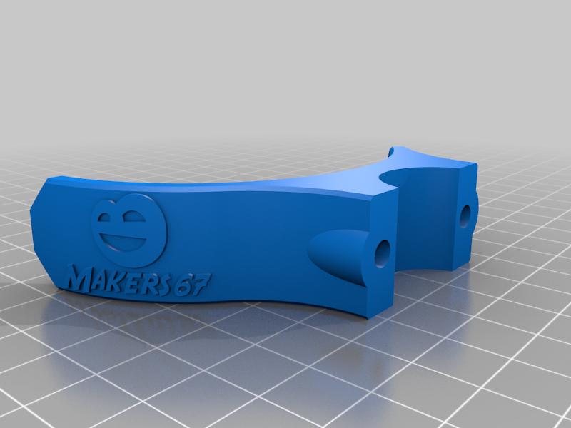 Ouvre porte - modèle Mimi - Makers67 (poigneé ronde 18-22mm)