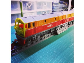 O-Scale General Electric GEA Locomotive (State Railway of Thailand)