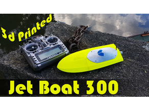 RC Jet Boat 300