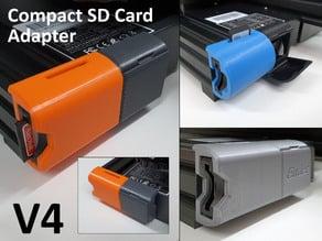 Ender 3 Pro V2 Compact SD Card Adapter Housing V4