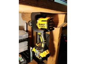 Mounted Dewalt Drill and Charger Holster
