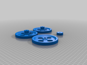 DIY Rotocaster Gears And Parts