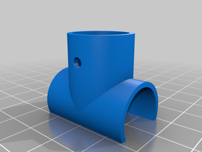 Component sleeve for Baby bars cat access (parametric)