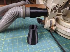 1.5 in Shop Vacuum Adapter for Makita Chop Saw