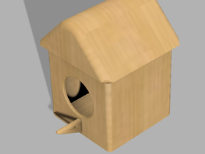 Vogelhaus / bird house without support