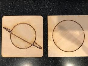 Copper Wire Inlaid Coaster