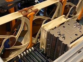 Rosewill RSV-L4500 140mm Case Fan Mount Kit