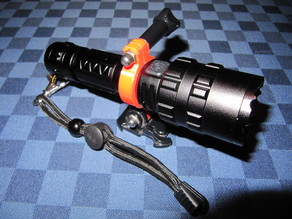 (Banggood) XANES flashlight review and GUIDE to mount it on 3d printed support !!!!!