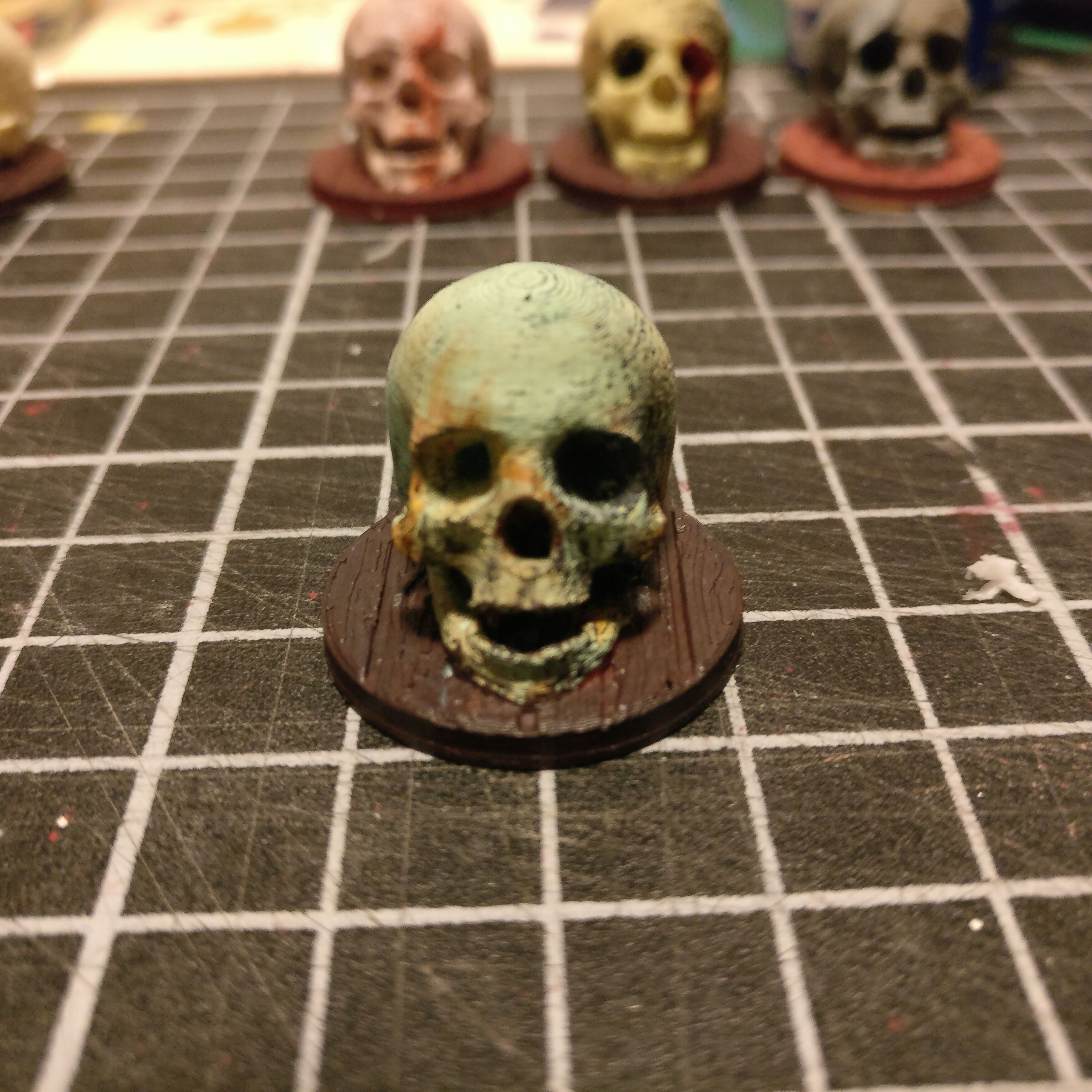generic enemy skull figures for dnd by jdbuilds thingiverse rh thingiverse com