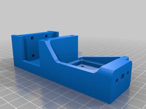 FT-5 R2 Mod 04 - Printer Head Carriage Mount E3D Titan Aero