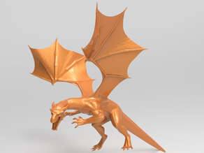 Charizard Realistic Dragon