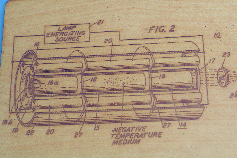 Laser Patent Plaque