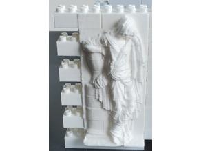 Montini Princess Sofia Tombstone Wall Set (Lego Compatible)