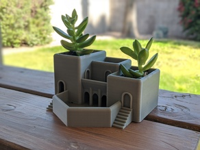 Roman Terrace Garden Succulent Planter