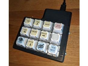 DIY USB keyboard case
