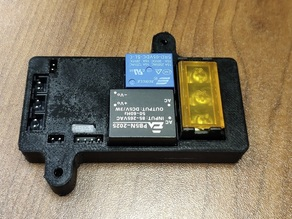SKR Relay Module v1.2 holder for UNI 3d printer