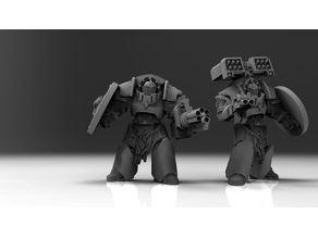 Space Puppies - Long Claw Battle Leaders