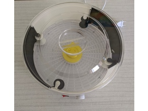 filament dehydrator with rolls
