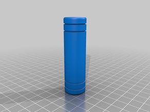 The Mandalorian shin and bandolier cylinders