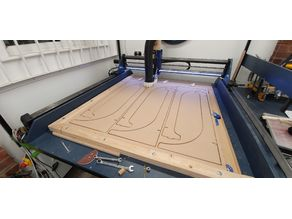 Root 4 CNC Large scale CNC machine