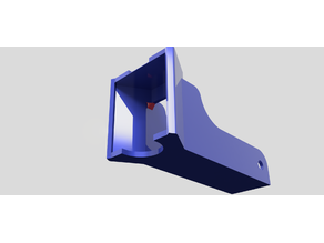 E3d V6 hexahedral mount fan 5015