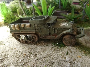 M3 Halftrack 1:56 scale (28mm)