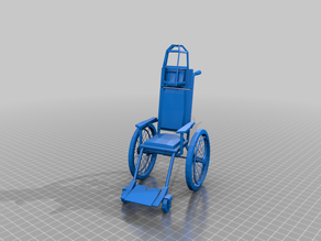 assylum wheelchair - gubbins