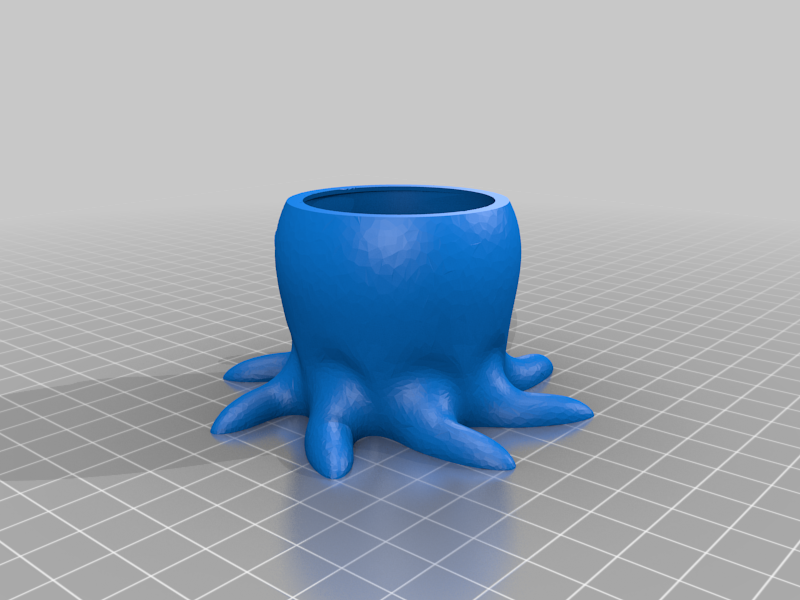 Octopus Plant pot Remix
