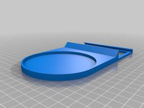 Rauchmelder Halterung / Smoke Detektor Mount for Anycubic i3 Mega (Hekatron Rauchmelder Genius PLUS X)