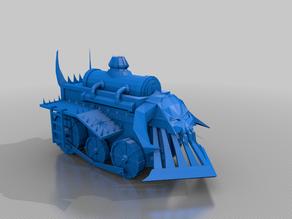 War Wagon - chaos dwarves - warmachine